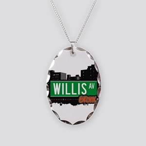 Willis Ave Necklace Oval Charm
