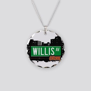 Willis Ave Necklace Circle Charm