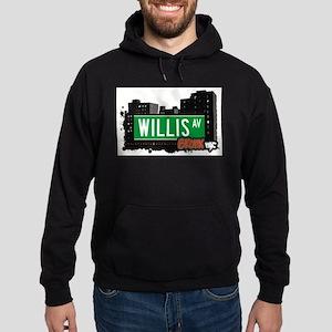 Willis Ave Hoodie (dark)