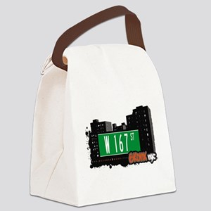 W 167 ST Canvas Lunch Bag