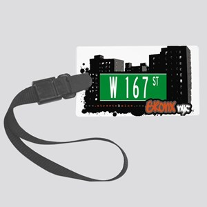 W 167 ST Large Luggage Tag
