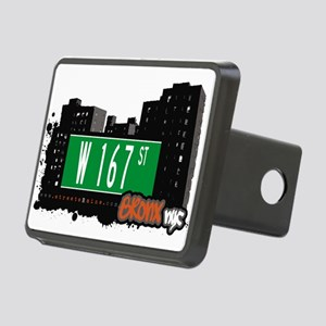 W 167 ST Rectangular Hitch Cover
