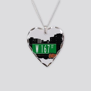 W 167 ST Necklace Heart Charm