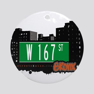 W 167 ST Ornament (Round)
