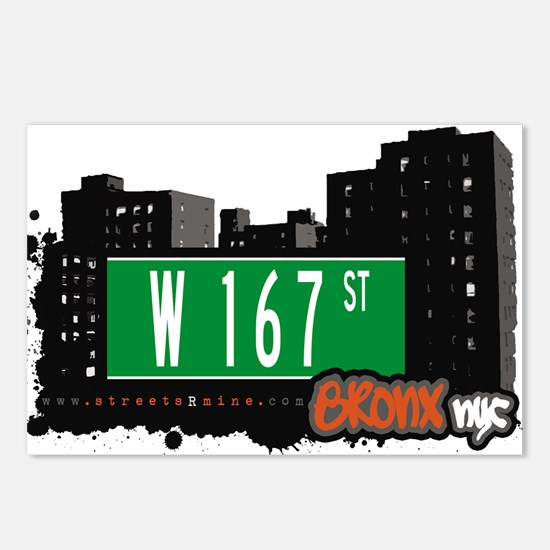 W 167 ST Postcards (Package of 8)