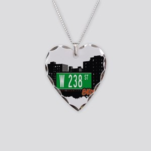 W 238 ST Necklace Heart Charm