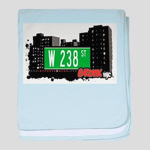 W 238 ST baby blanket