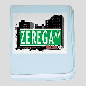 Zerega Ave baby blanket
