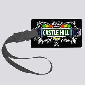 castlehill Bronx NYC (Black) Large Luggage Tag