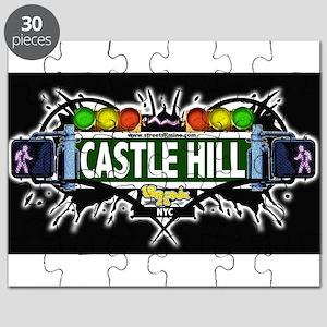 castlehill Bronx NYC (Black) Puzzle