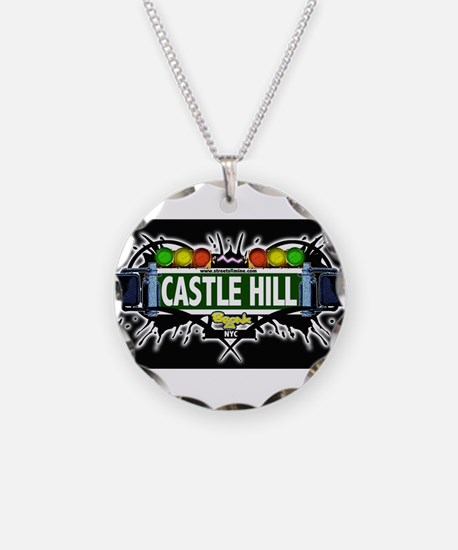 castlehill Bronx NYC (Black) Necklace