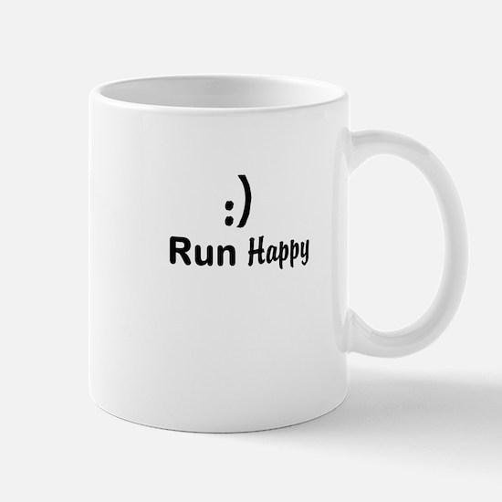 Run Happy Running Mug