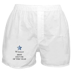 The Best Excuse Award - Boxer Shorts