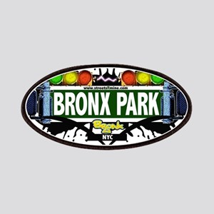 Bronx Park Bronx NYC (White) Patches