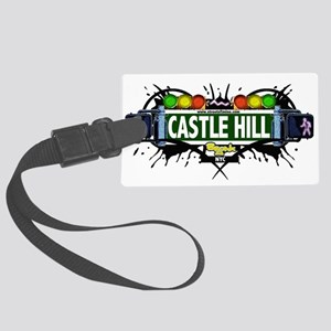 Castle Hill Bronx NYC (White) Large Luggage Tag