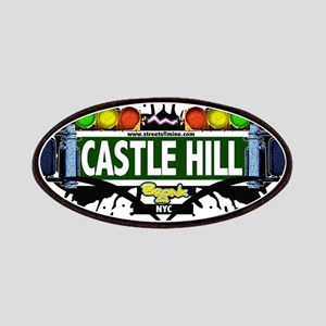 Castle Hill Bronx NYC (White) Patches