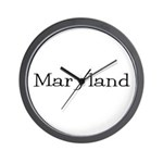 Maryland Wall Clock