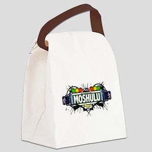 Moshulu Bronx NYC (White) Canvas Lunch Bag