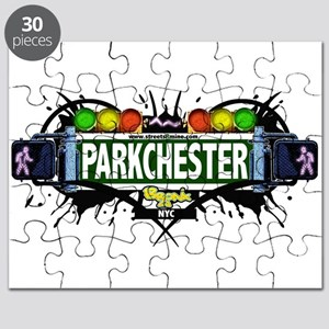 Parkchester Bronx NYC (White) Puzzle