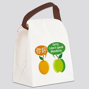 I Don't Speak Mandarin Canvas Lunch Bag