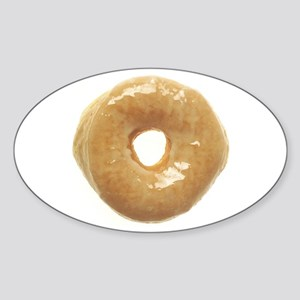 raised glazed donut Sticker