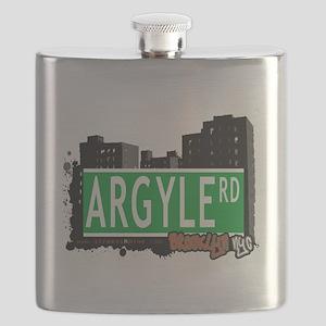 Argyle road, Brooklyn, NYC Flask