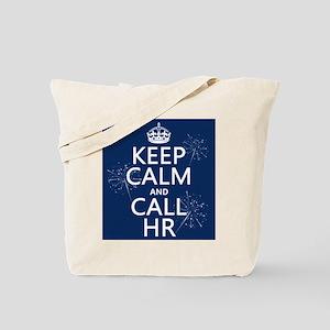 Keep Calm and Call H.R. Tote Bag