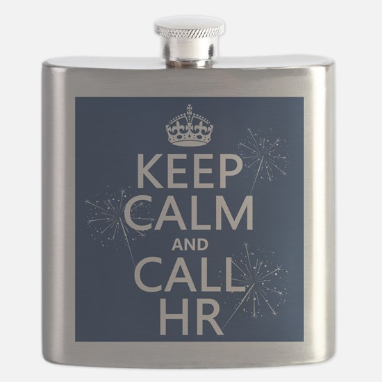 Keep Calm and Call H.R. Flask