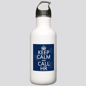 Keep Calm and Call H.R. Stainless Water Bottle 1.0