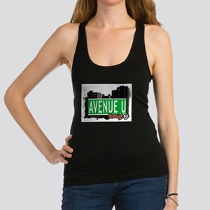 Avenue U, Brooklyn, NYC Racerback Tank Top