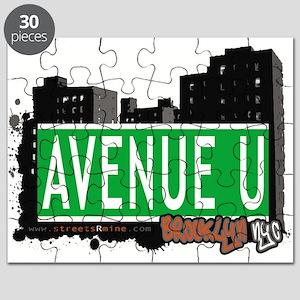 Avenue U, Brooklyn, NYC Puzzle