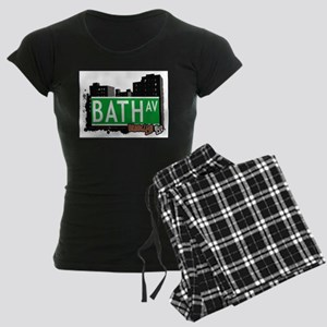 Bath avenue, BROOKLYN, NYC Women's Dark Pajamas