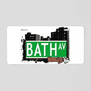 Bath avenue, BROOKLYN, NYC Aluminum License Plate