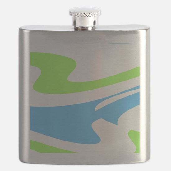 Blue Green Dons Favorite 23 Flask