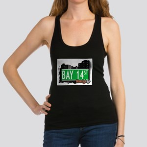Bay 14 street, BROOKLYN, NYC Racerback Tank Top