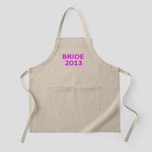 BRIDE 2013 -3 Apron
