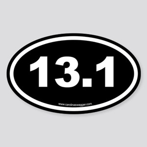 13.1 Half Marathon Sticker