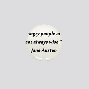 Austen - Angry People Mini Button