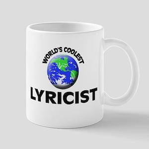 World's Coolest Lyricist Mug