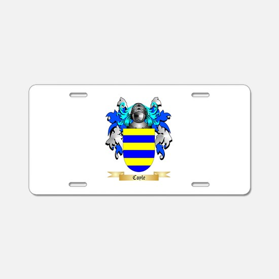 Coyle Aluminum License Plate
