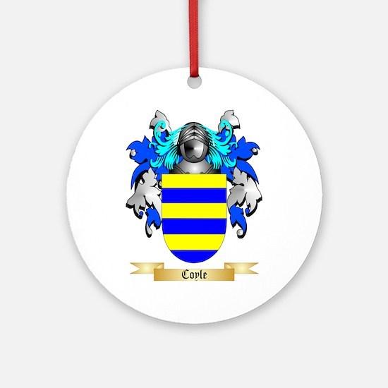 Coyle Ornament (Round)