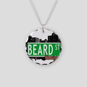 Beard street, BROOKLYN, NYC Necklace Circle Charm