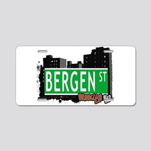 Bergen street, BROOKLYN, NYC Aluminum License Plat