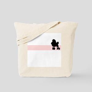 Retro Poodle Tote Bag