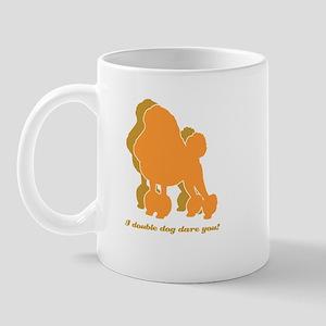 Poodle Double Dog Mug