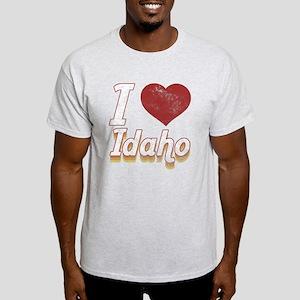 I Love Idaho (Vintage) Light T-Shirt