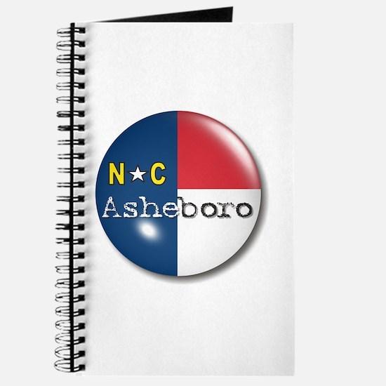 Asheboro North Carolina Flag Journal