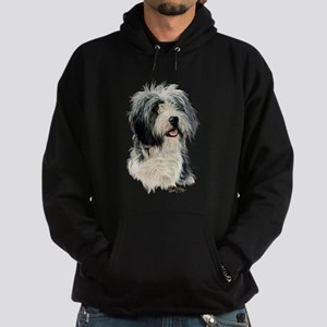 Bearded Collie Hoodie (dark)