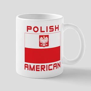 Polish American Falcon Flag Mug