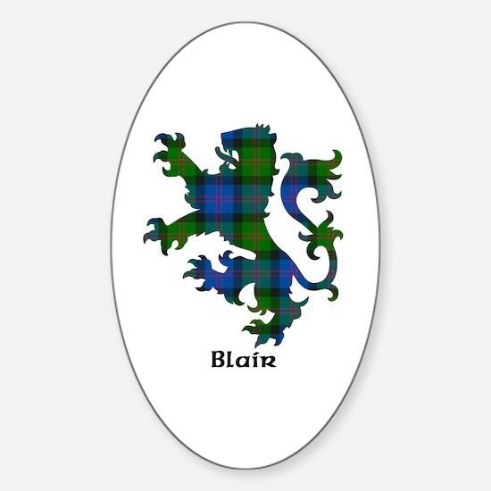 Lion - Blair Sticker (Oval)